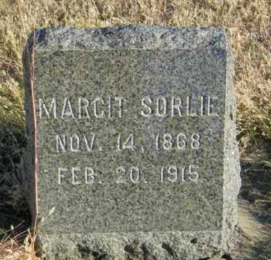 SORLIE, MARGIT - Lincoln County, South Dakota | MARGIT SORLIE - South Dakota Gravestone Photos