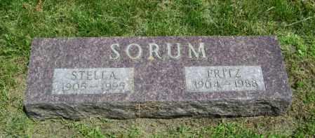 SORUM, FRITZ - Lincoln County, South Dakota | FRITZ SORUM - South Dakota Gravestone Photos