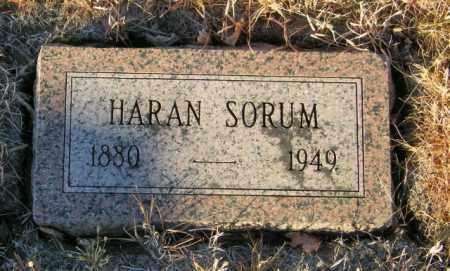 SORUM, HARAN - Lincoln County, South Dakota | HARAN SORUM - South Dakota Gravestone Photos