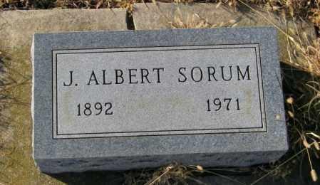 SORUM, J ALBERT - Lincoln County, South Dakota | J ALBERT SORUM - South Dakota Gravestone Photos