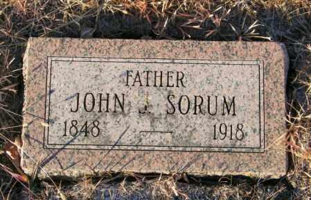 SORUM, JOHN J - Lincoln County, South Dakota | JOHN J SORUM - South Dakota Gravestone Photos