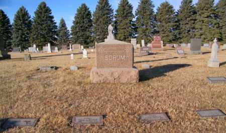 SORUM PLOT, JOHN - Lincoln County, South Dakota | JOHN SORUM PLOT - South Dakota Gravestone Photos