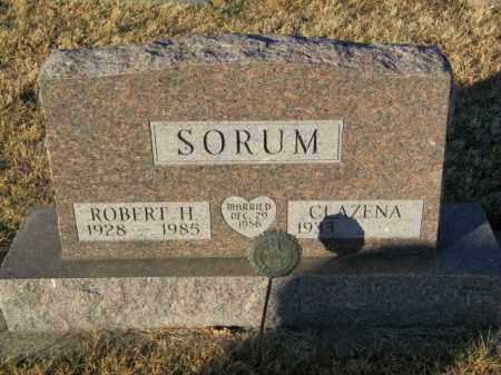 SORUM, CLAZENA - Lincoln County, South Dakota | CLAZENA SORUM - South Dakota Gravestone Photos