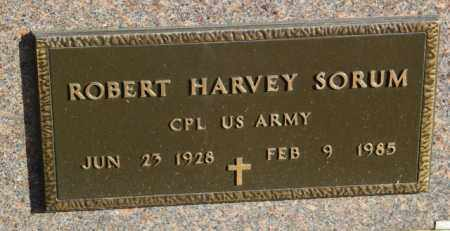 SORUM, ROBERT HARVEY - Lincoln County, South Dakota   ROBERT HARVEY SORUM - South Dakota Gravestone Photos