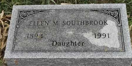 SOUTHBROOK, ELLEN M - Lincoln County, South Dakota   ELLEN M SOUTHBROOK - South Dakota Gravestone Photos