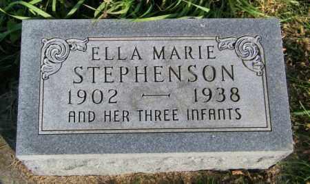 STEPHENSON, ELLA MARIE - Lincoln County, South Dakota | ELLA MARIE STEPHENSON - South Dakota Gravestone Photos