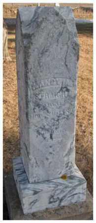 STRAIGHT, NANCY A. - Lincoln County, South Dakota | NANCY A. STRAIGHT - South Dakota Gravestone Photos