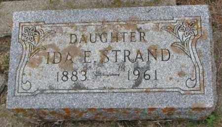 STRAND, IDA E. - Lincoln County, South Dakota   IDA E. STRAND - South Dakota Gravestone Photos