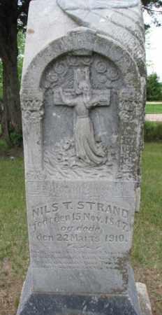 STRAND, NILS T. - Lincoln County, South Dakota | NILS T. STRAND - South Dakota Gravestone Photos