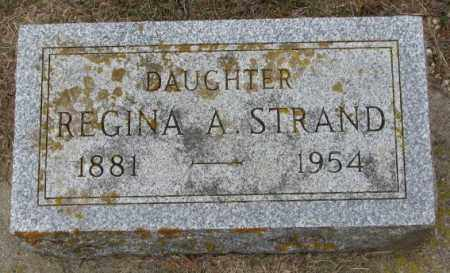 STRAND, REGINA A. - Lincoln County, South Dakota   REGINA A. STRAND - South Dakota Gravestone Photos
