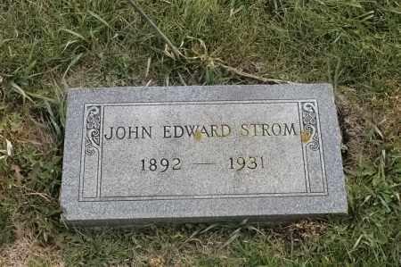 STROM, JOHN EDWARD - Lincoln County, South Dakota | JOHN EDWARD STROM - South Dakota Gravestone Photos