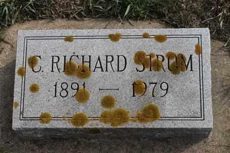 STRUM, C RICHARD - Lincoln County, South Dakota | C RICHARD STRUM - South Dakota Gravestone Photos