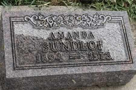 SUNDLOF, AMANDA - Lincoln County, South Dakota | AMANDA SUNDLOF - South Dakota Gravestone Photos