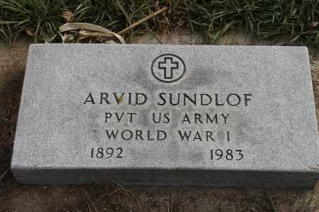 SUNDLOF, ARVID - Lincoln County, South Dakota | ARVID SUNDLOF - South Dakota Gravestone Photos