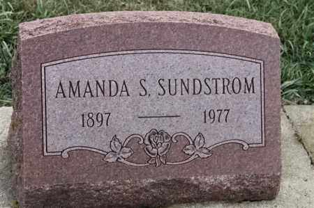 SUNDSTROM, AMANDA S - Lincoln County, South Dakota | AMANDA S SUNDSTROM - South Dakota Gravestone Photos