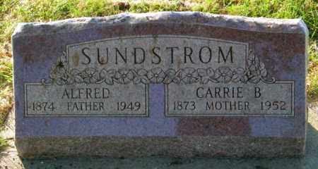 SUNDSTROM, ALFRED - Lincoln County, South Dakota | ALFRED SUNDSTROM - South Dakota Gravestone Photos