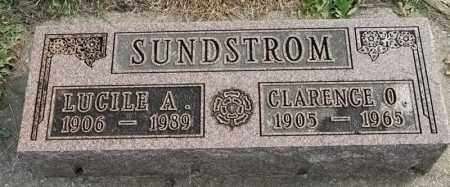 SUNDSTROM, CLARENCE O - Lincoln County, South Dakota | CLARENCE O SUNDSTROM - South Dakota Gravestone Photos