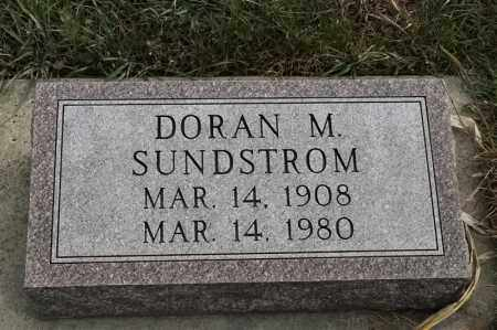 SUNDSTROM, DORAN M - Lincoln County, South Dakota | DORAN M SUNDSTROM - South Dakota Gravestone Photos