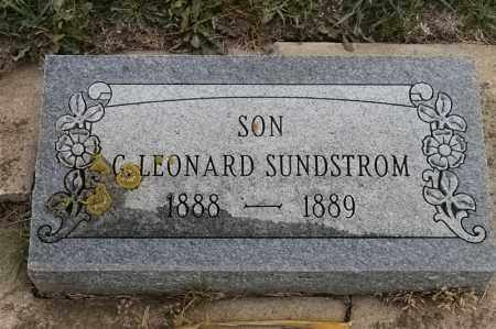 SUNDSTROM, G LEONARD - Lincoln County, South Dakota | G LEONARD SUNDSTROM - South Dakota Gravestone Photos