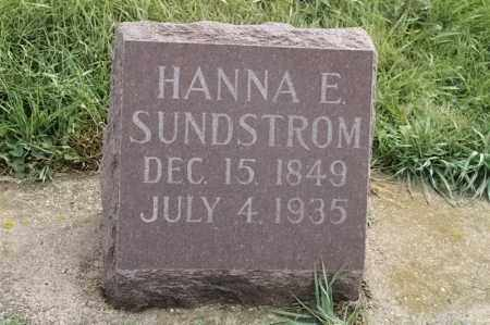 SUNDSTROM, HANNA E - Lincoln County, South Dakota | HANNA E SUNDSTROM - South Dakota Gravestone Photos