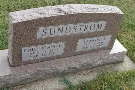 SUNDSTROM, ETHEL BLANCHE - Lincoln County, South Dakota | ETHEL BLANCHE SUNDSTROM - South Dakota Gravestone Photos