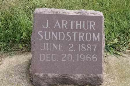 SUNDSTROM, J ARTHUR - Lincoln County, South Dakota | J ARTHUR SUNDSTROM - South Dakota Gravestone Photos
