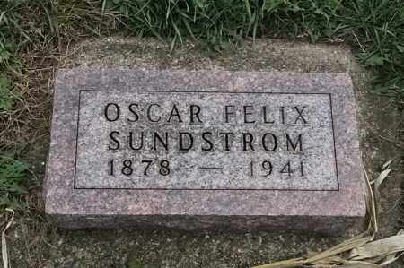 SUNDSTROM, OSCAR  FELIX - Lincoln County, South Dakota | OSCAR  FELIX SUNDSTROM - South Dakota Gravestone Photos