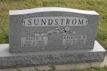 SUNDSTROM, HELEN S - Lincoln County, South Dakota | HELEN S SUNDSTROM - South Dakota Gravestone Photos