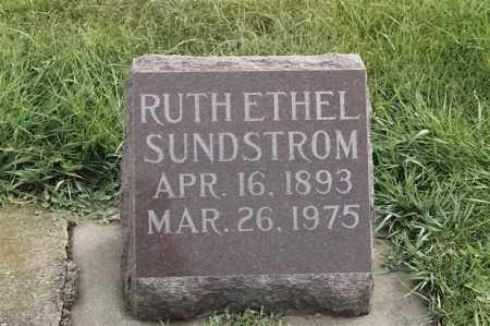 SUNDSTROM, RUTH ETHEL - Lincoln County, South Dakota | RUTH ETHEL SUNDSTROM - South Dakota Gravestone Photos