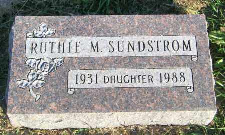 SUNDSTROM, RUTHIE M. - Lincoln County, South Dakota | RUTHIE M. SUNDSTROM - South Dakota Gravestone Photos