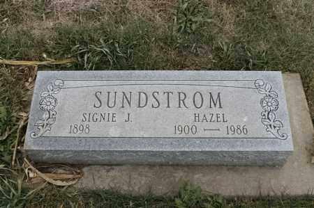 SUNDSTROM, HAZEL - Lincoln County, South Dakota   HAZEL SUNDSTROM - South Dakota Gravestone Photos