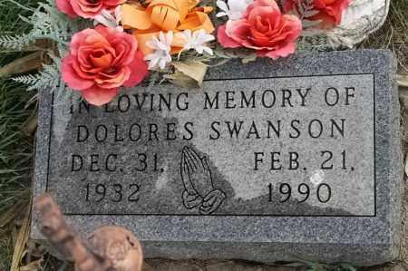 SWANSON, DOLORES - Lincoln County, South Dakota | DOLORES SWANSON - South Dakota Gravestone Photos