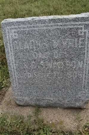 SWANSON, GLADYS MYRIE - Lincoln County, South Dakota | GLADYS MYRIE SWANSON - South Dakota Gravestone Photos