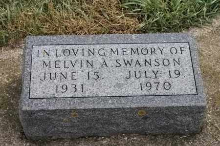 SWANSON, MELVIN A - Lincoln County, South Dakota | MELVIN A SWANSON - South Dakota Gravestone Photos