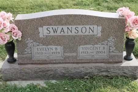 SWANSON, EVELYN B - Lincoln County, South Dakota | EVELYN B SWANSON - South Dakota Gravestone Photos
