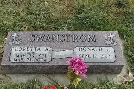 SWANSTROM, DONALD E - Lincoln County, South Dakota | DONALD E SWANSTROM - South Dakota Gravestone Photos