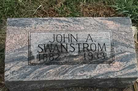 SWANSTROM, JOHN A - Lincoln County, South Dakota | JOHN A SWANSTROM - South Dakota Gravestone Photos