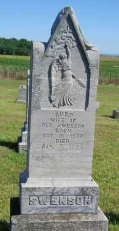 SWENSON, GURD - Lincoln County, South Dakota   GURD SWENSON - South Dakota Gravestone Photos