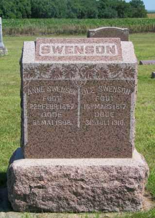 SWENSON, OLE - Lincoln County, South Dakota | OLE SWENSON - South Dakota Gravestone Photos