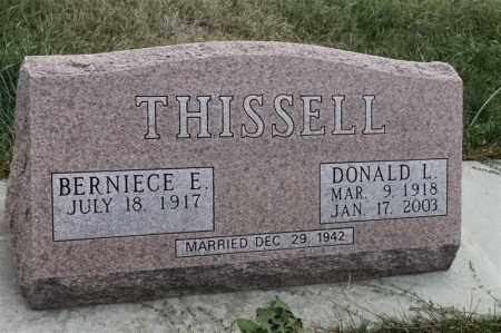 THISSELL, DONALD L - Lincoln County, South Dakota | DONALD L THISSELL - South Dakota Gravestone Photos