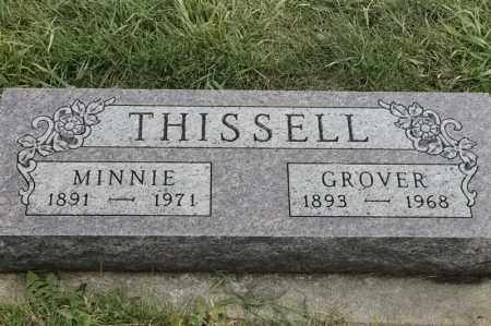 THISSELL, MINNIE - Lincoln County, South Dakota | MINNIE THISSELL - South Dakota Gravestone Photos