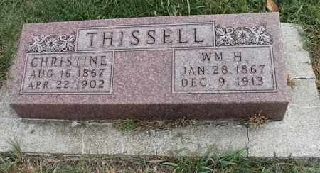 THISSELL, CHRISTINE - Lincoln County, South Dakota | CHRISTINE THISSELL - South Dakota Gravestone Photos