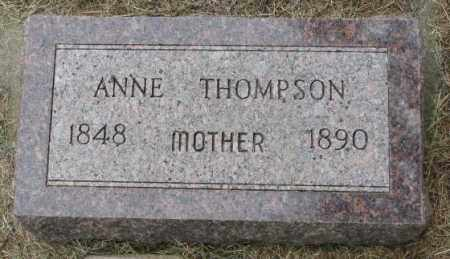 THOMPSON, ANNE - Lincoln County, South Dakota   ANNE THOMPSON - South Dakota Gravestone Photos