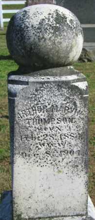 THOMPSON, ATRHER MARVIN - Lincoln County, South Dakota | ATRHER MARVIN THOMPSON - South Dakota Gravestone Photos