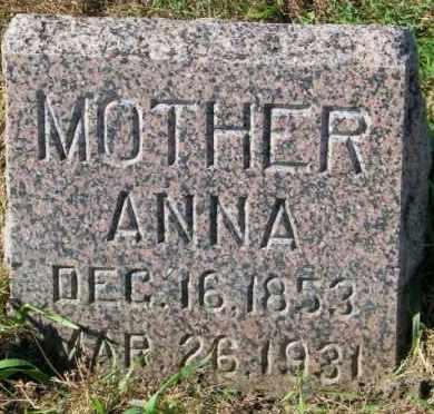 THOMPSON, ANNA - Lincoln County, South Dakota   ANNA THOMPSON - South Dakota Gravestone Photos
