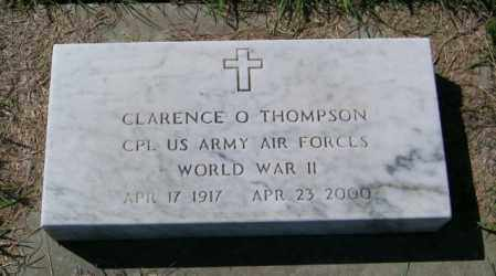 THOMPSON, CLARENCE O - Lincoln County, South Dakota | CLARENCE O THOMPSON - South Dakota Gravestone Photos