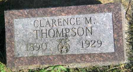 THOMPSON, CLARENCE M. - Lincoln County, South Dakota | CLARENCE M. THOMPSON - South Dakota Gravestone Photos