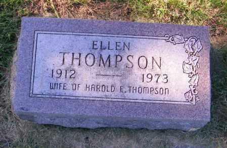 THOMPSON, ELLEN - Lincoln County, South Dakota   ELLEN THOMPSON - South Dakota Gravestone Photos