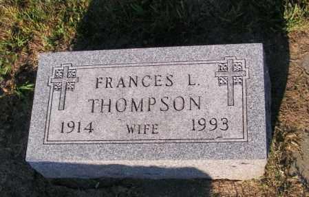 THOMPSON, FRANCES L - Lincoln County, South Dakota | FRANCES L THOMPSON - South Dakota Gravestone Photos