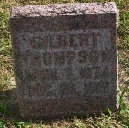 THOMPSON, GILBERT - Lincoln County, South Dakota | GILBERT THOMPSON - South Dakota Gravestone Photos